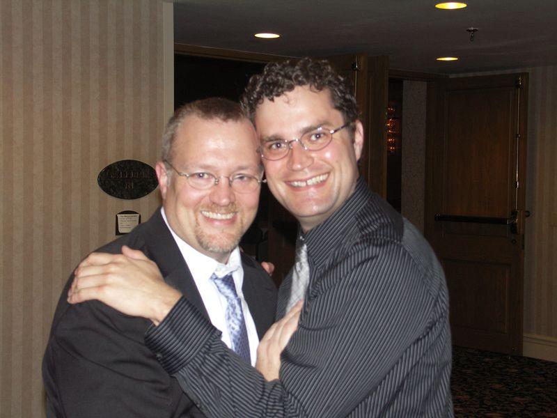 John & Scott at the Gala