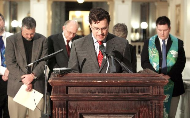 State Capitol Press Conference -- Oklahoman picture
