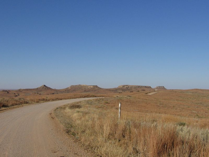 24 -- Approaching Antelope Hills from the South
