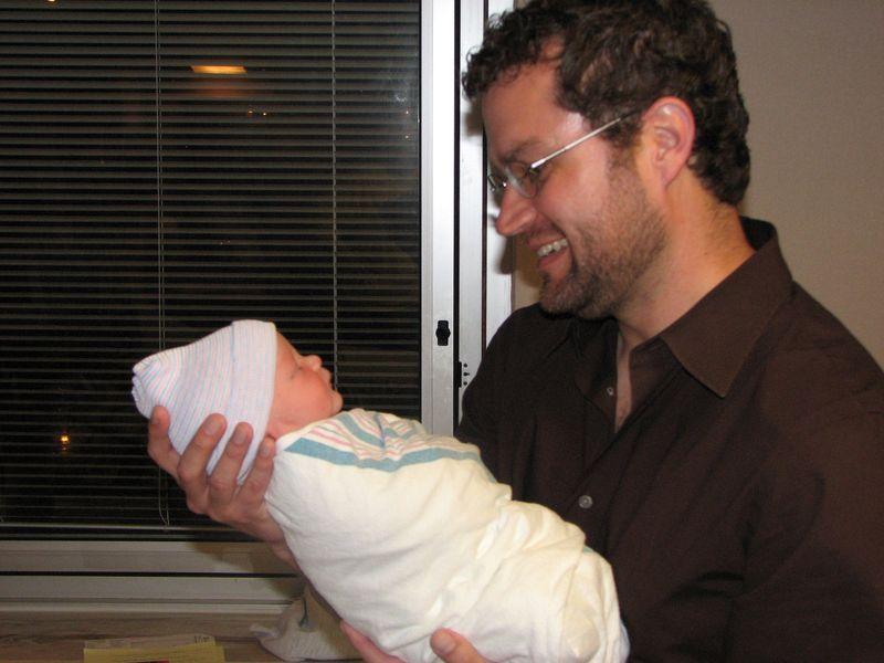 Jacob & Scott at hospital 2