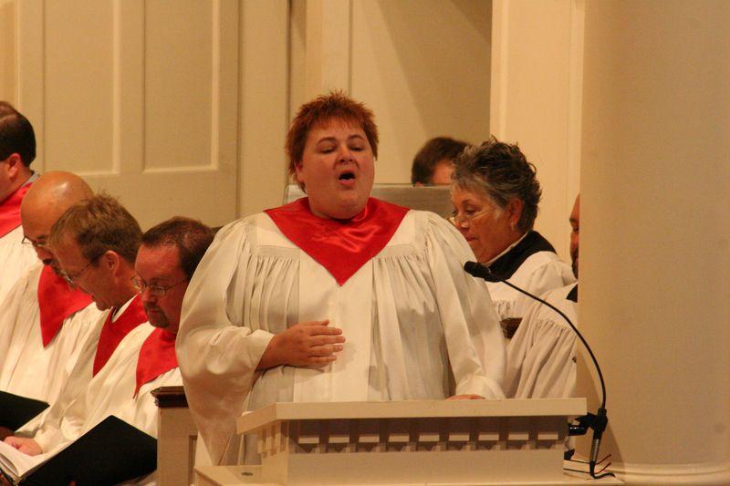 Christa Singing