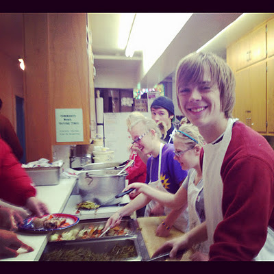 First Central Congregational Volunteers