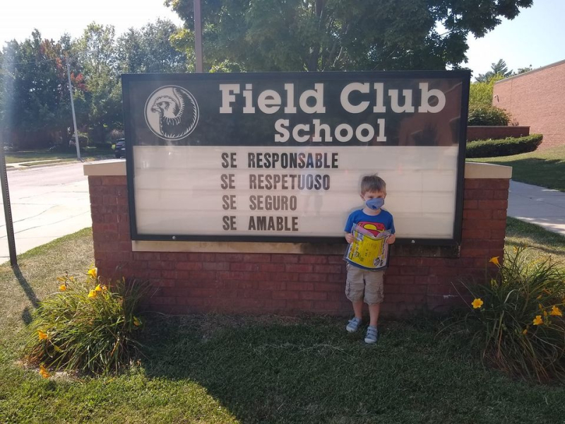 Field Club sign